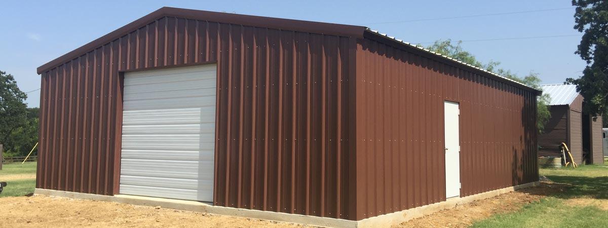 Burleson metal building examples